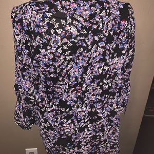 Express Tops - Express multicolored portfolio blouse NWT